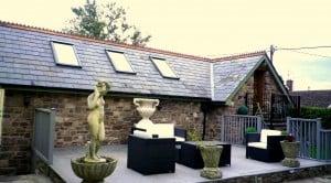 Welsh Slate Roof - Raglan